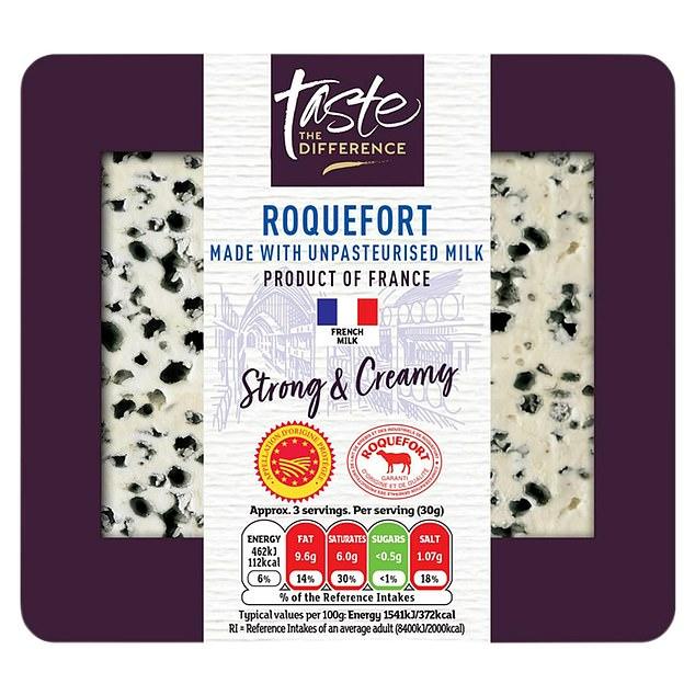 Sainsbury's Taste Difference Roquefort Cheese, 100g, £2, sainsburys.co.uk