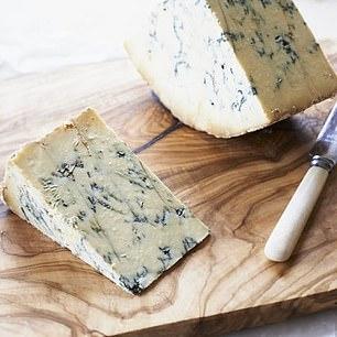 Stitchelton Blue Cheese, 250g, £8.95, thecourtyarddairy.co.uk