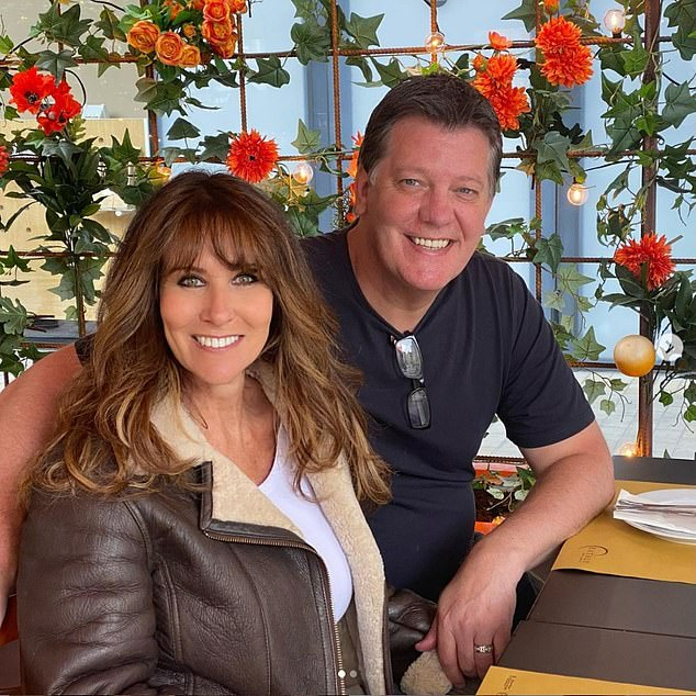 Covid restrictions: Their outing comes as Linda slammed the government a few months back for 'premature' lifting of pandemic restrictions on the 19th July. Pictured in June 2021 with husband Sam Kane