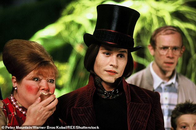 Faithful:The studio then put together a more faithful adaptation of the original novel with 2005's Charlie and the Chocolate Factory starring Johnny Depp as Willy Wonka and Freddie Highmore as Charlie Bucket