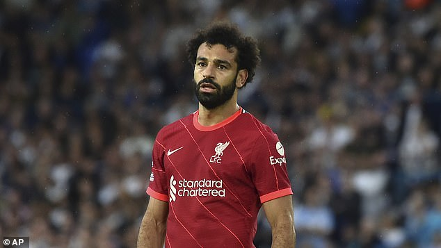 Jamie Carragher says Mo Salah (above) deserves to be one of England's highest-paid players