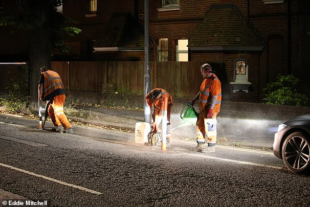 Brighton and Hove City Council took the decision to remove the unpopular lanes after 16 months and work began last night
