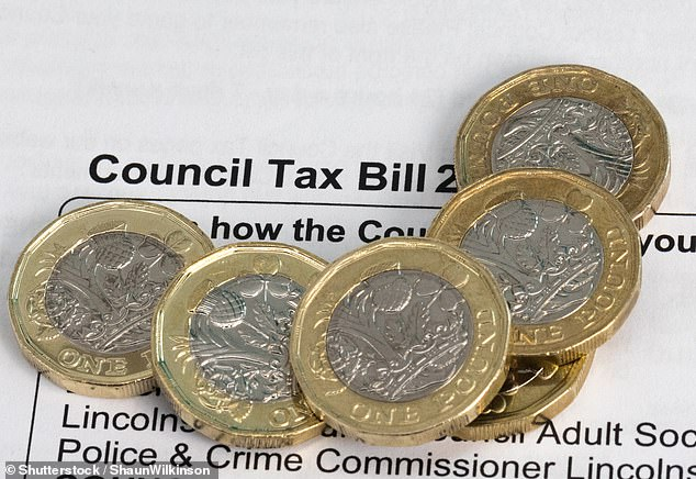 Families could be hit with higher council tax bills because of the national insurance rise to fund the NHS and social care, a Whitehall chief admitted yesterday (stock image)