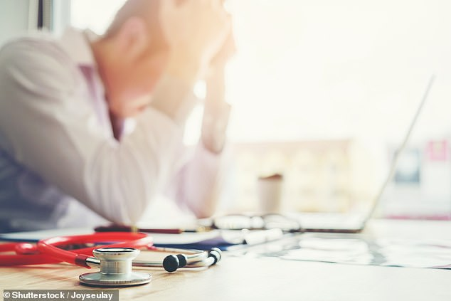The NHS in England is short of around 50,000 doctors ahead of what is set to be one of the worst winters on record, the British Medical Association has said (stock image)