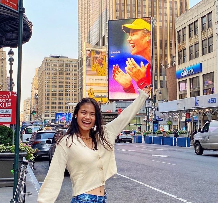 Emma Raducanu is firmly on the path to being a global megastar – after waking up in New York yesterday to find the world clamouring to hear what she has to say about her incredible, faultless win at such a young age