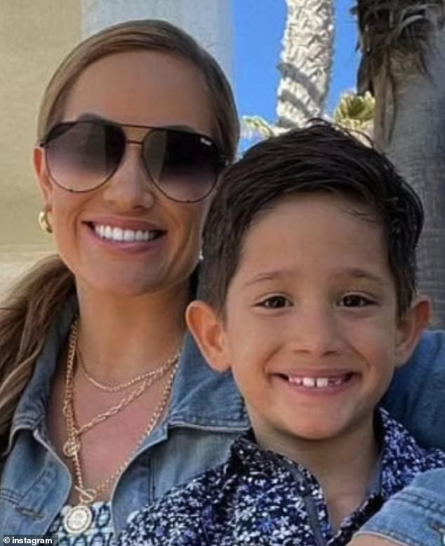 Initially, Cheyenne (pictured left) said that she would stop including Christian (pictured right) in her YouTube videos. However, on Monday, she said in a statement to Insider that she was pulling down her channel to focus on Christian's 'health and wellbeing'