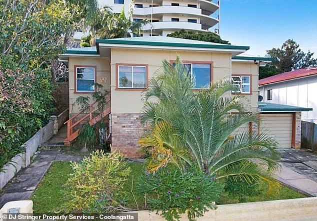 On the New South Wales North Coast, stretching from north of Grafton to Tweed Heads (house pictured) on the Queensland border, weekly house rents climbed by 4.2 per cent in just one month to $631