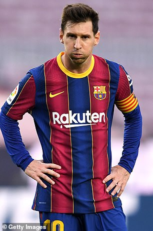 The Argentine left the Catalans on a free transfer in the summer