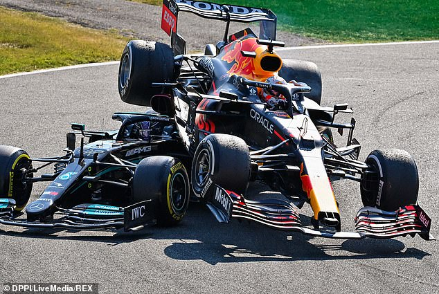 Max Verstappen and Lewis Hamilton's rivalry took another twist after Sunday's latest crash