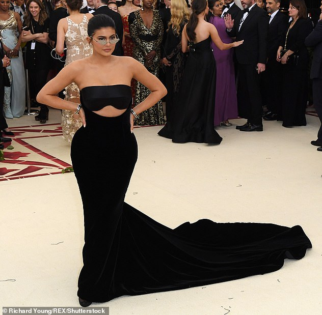 Absent: Kylie Jenner is one of several big names who did not attend tonight's Met Gala tonight (pictured in 2018)
