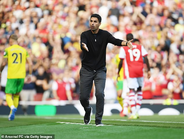 The win gave Arsenal their first points of the season under Mikel Arteta at their fourth attempt