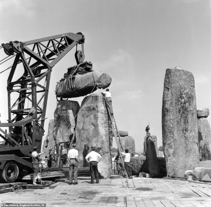 The last major job began in 1958 when several fallen stones were hauled back into place within the UNESCO world heritage site whose origins have long remained a source of mystery and wonder