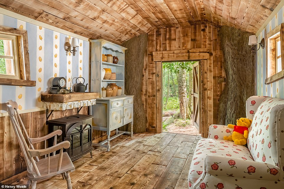 The custom-built home sleeps a family of four, and only current UK residents are eligible to book