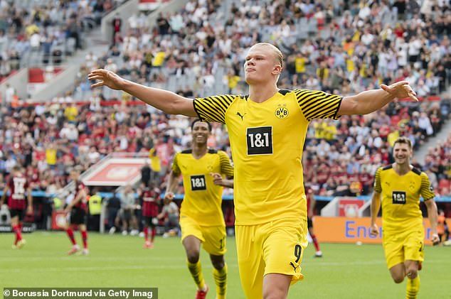 Erling Haaland will be expected to supply the goals for Borussia Dortmund in Europe again