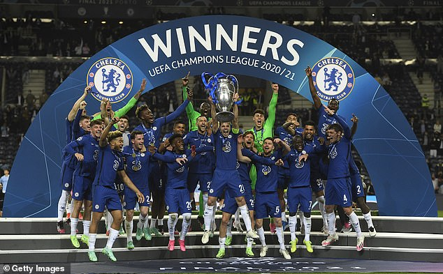 Chelsea won the Champions League in the 2020-2021 season after beating Manchester City