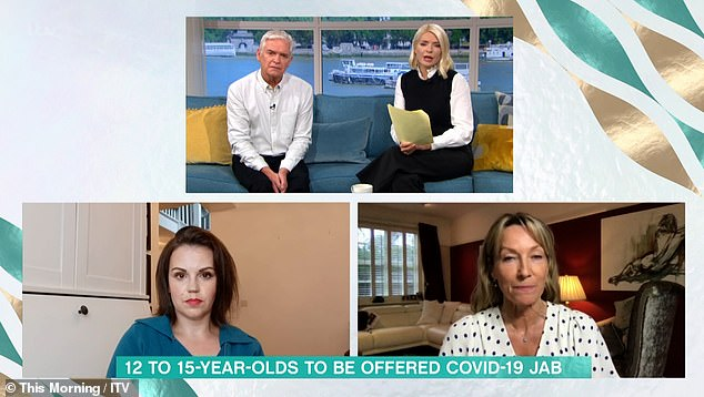 Debate: Holly, 40, says the announcement affects her and her 12-year-old son, Harry