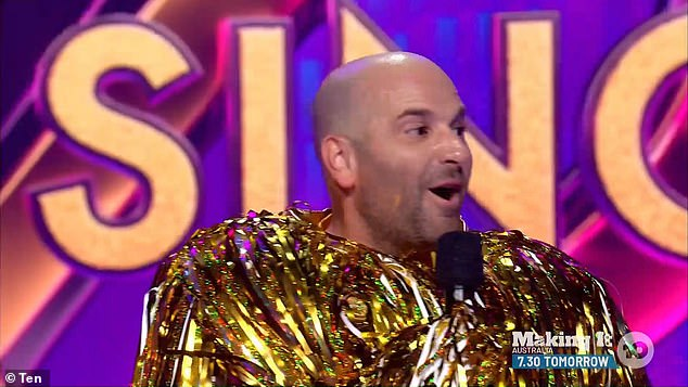 Return: In Tuesday's episode of The Masked Singer Australia, George was exposed as The Duster