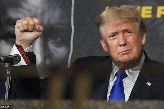 Former President Donald Trump claimed the U.S 'absolutely' airlifted terrorists in the Afghanistan withdraw who are now being resettled in America as he slammed the Biden administration for its vetting process