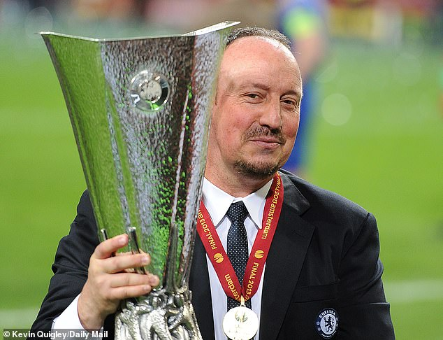 Rafael Benitez replaced Di Matteo as the interim boss and went on to lift the Europe League