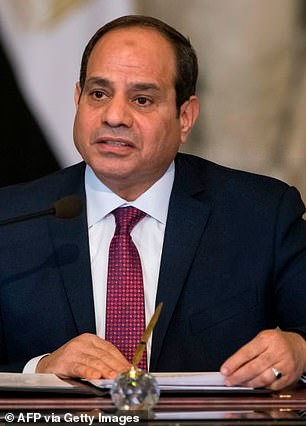 President Abdel Fatah al-Sissi's government has been accused of human rights abuses