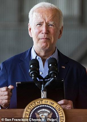 "President Biden last year promised 'no more blank checks for Trump's ""favorite dictator""'"