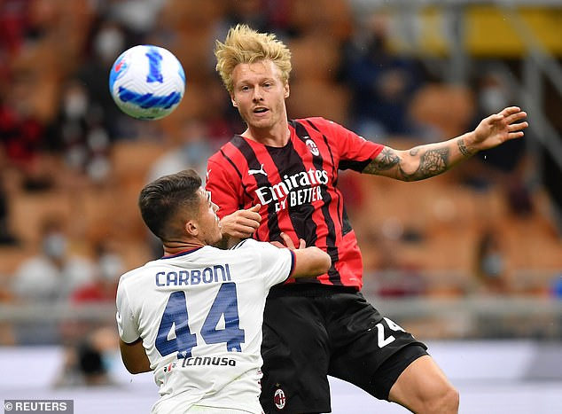 Simon Kjaer warned Liverpool that AC Milan are out to prove themselves ahead of their clash