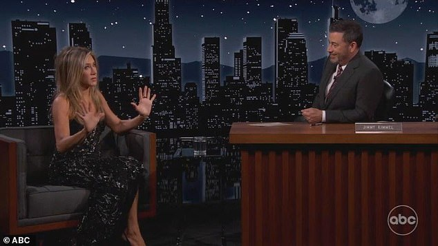 Whatever it takes: The 52-year-old actress told Jimmy Kimmel that she's still taking 'baby steps' out of lockdown after following strict quarantine measures
