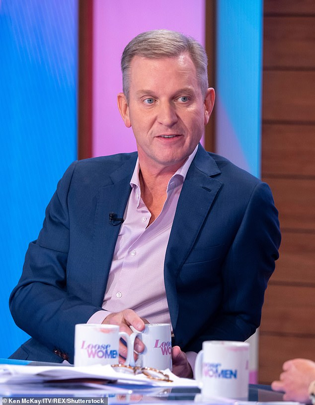 Axed: The presenter lost his job as the host of The Jeremy Kyle Show following the alleged suicide of Steve Dymond after he filmed an episode of the programme