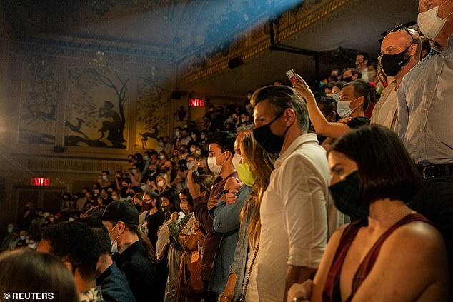 Theatergoers packed in as the theaters reopened. Audiences can expect a more diverse collection of shows - including seven new pieces by Black playwrights
