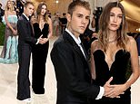 Hailey Bieber's fans think she may be pregnant after Justin puts his hands on her tummy at Met Gala