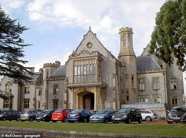 Addressing Taunton Crown Court (pictured) on Tuesday, Pallister admitted to having what he described as a 'consensual' sexual relationship with one of his accusers while she was a teenager