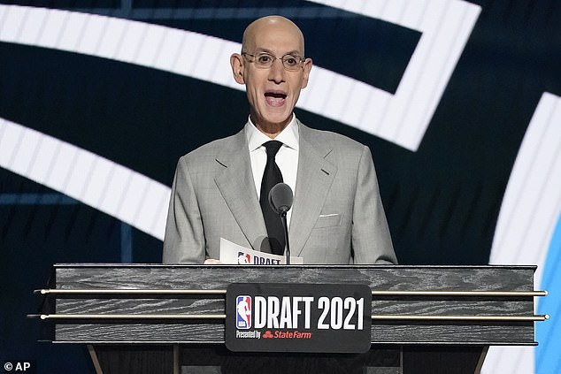 NBA commissioner Adam Silver's office is continuing to negotiate COVID-19 protocols for the upcoming season with the players' union, which has reportedly refused any vaccine mandate