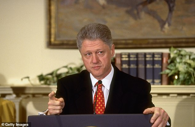 President Bill Clinton was eventually brought down by his deposition in Jones's lawsuit, where he claimed that he never had sex with Monica Lewinsky despite evidence to the contrary
