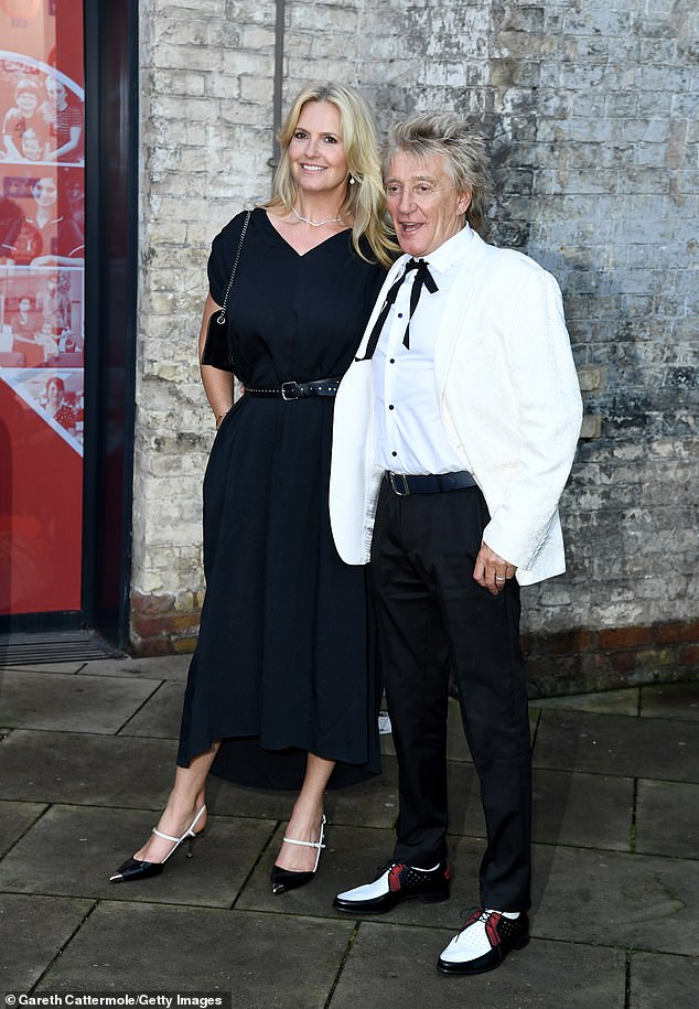 Good timing:The outing came after it was revealed Rod and his son Sean will avoid jail time and a potentially embarrassing trial that was set to start the same night as the awards
