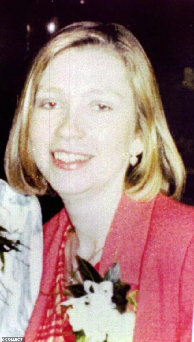 Nicholas Burton was convicted of the murder of Rachel McGrath (pictured) whom he knifed as she called to collect her boyfriend from a pub car park in Bramhall, Cheshire, in 1997