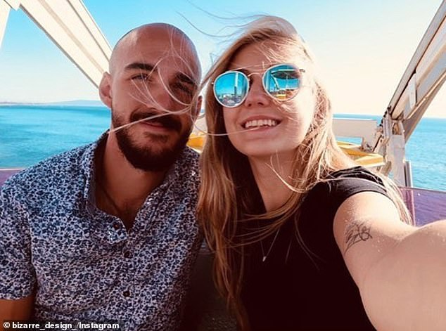 Brian Laundrie (pictured left) has since returned home to Florida with the pair's camper van, according to missing Gabby Petito's father Joseph Petito, and is not cooperating with police in their investigation