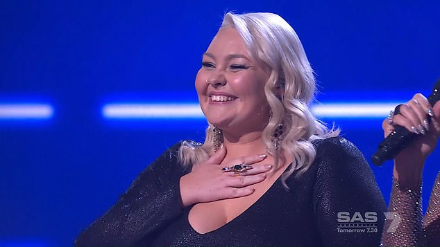 'She deserved to win':Fans of The Voice Australia have rubbished claims Bella Taylor Smith (pictured) only won the singing competition because of her links to Hillsong Church