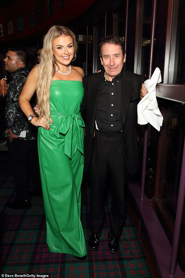 Good company:Ferne was in good company at Boisdale, sharing the spotlight with the likes of Jools Holland (pictured right), Ranald Macdonald, Emily Capell and Tallia Storm (pictured left)