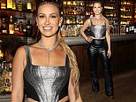 Ferne McCann wows in a silver crop top as she hosts Boisdale Music Awards