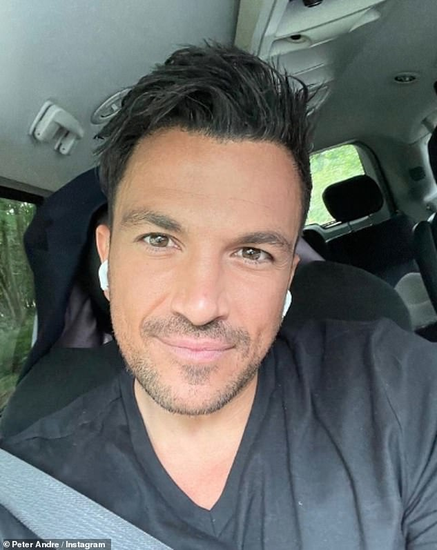 Strong opinion: Peter Andre, 48, has hit out at ITV for making a 'scapegoat' of Jeremy Kyle, 56, after his talk show was axed following the alleged suicide of series guest Steve Dymond