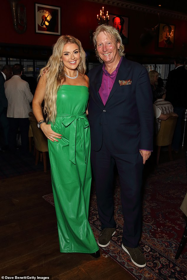 Previous winners: The former winners include Brian McFadden, Natasha Hamilton, Alexander Armstrong and Fleur East, as well as current nominees Rebecca Ferguson and Alexander O'Neal. Pictured right: Ranald Macdonald