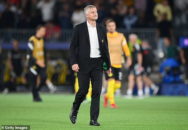 Many United fans criticised Ole Gunnar Solskjaer following the defeat to Young Boys
