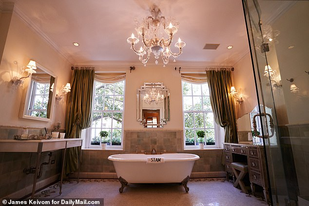 Classic:One feature RHONY fans will always associate with Sonja is a bidet - which she's used throughout the seasons in a variety of ways like washing her lingerie