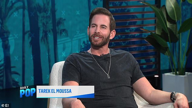 'It can be stressful working with an ex':Tarek El Moussa broke his silence on the nasty verbal tirade he hurled at his ex-wife Christina Haack on the set of their show Flip Or Flop back in July