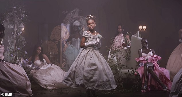 Grammy Winner: Blue Ivy also received a writing credit on the song, which earned her her first Grammy Award for Best Music Video in March.