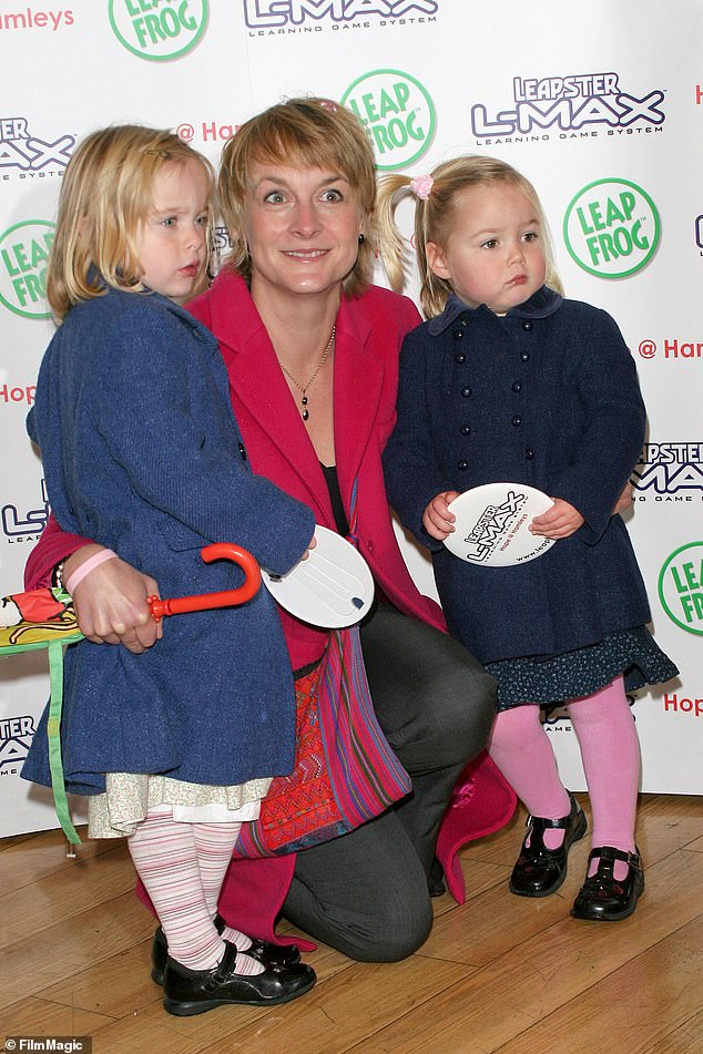 Doting mother: Louise - who keeps her daughtersMia, 20, and Scarlett, 17, out of the spotlight (pictured in 2005) is looking forward to spending time with her family