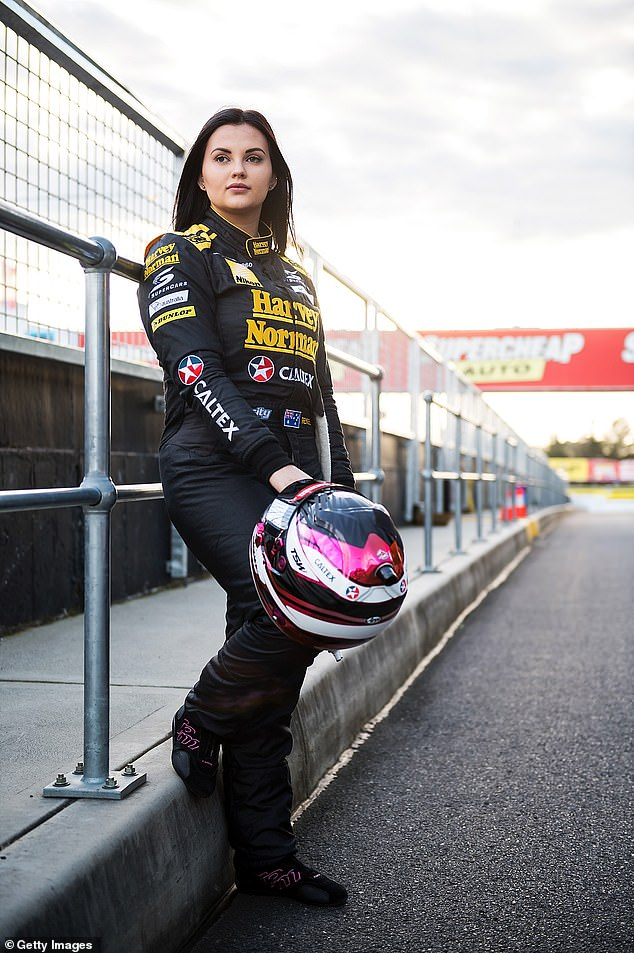 Back on track? Renee, who retired from racing in 2017 to become a full-time porn star, made headlines last month when she announced her plans to buy her own racing team and enter the upcoming Bathurst 1000