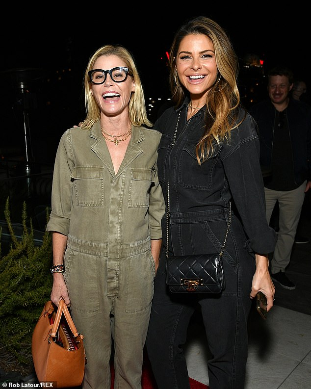 Jumpsuit girls!Modern Family's Julie Bowen and Maria Menounos both wore jumpsuits to the event