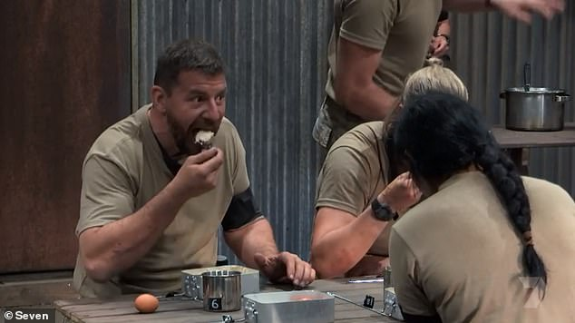 Worse than prison meals: SAS Australia stars were fed a diet of porridge and boiled eggs, celebrity claiming