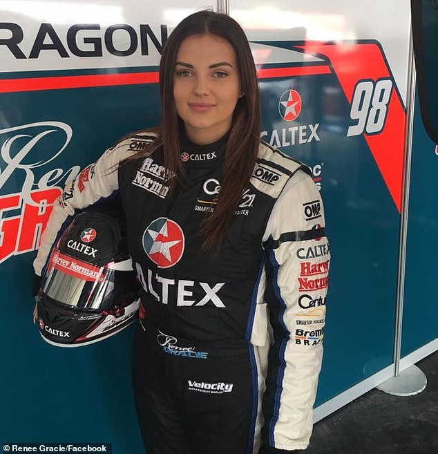 There aren't too many females that have raced – let alone one that has raced before and done porn': Despite the backlash, Renee feels confident that a porn star driver is exactly what the sport needs to enliven its public image